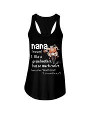NANA - LIKE A GRANDMOTHER BUT SO MUCH COOLER Ladies Flowy Tank thumbnail