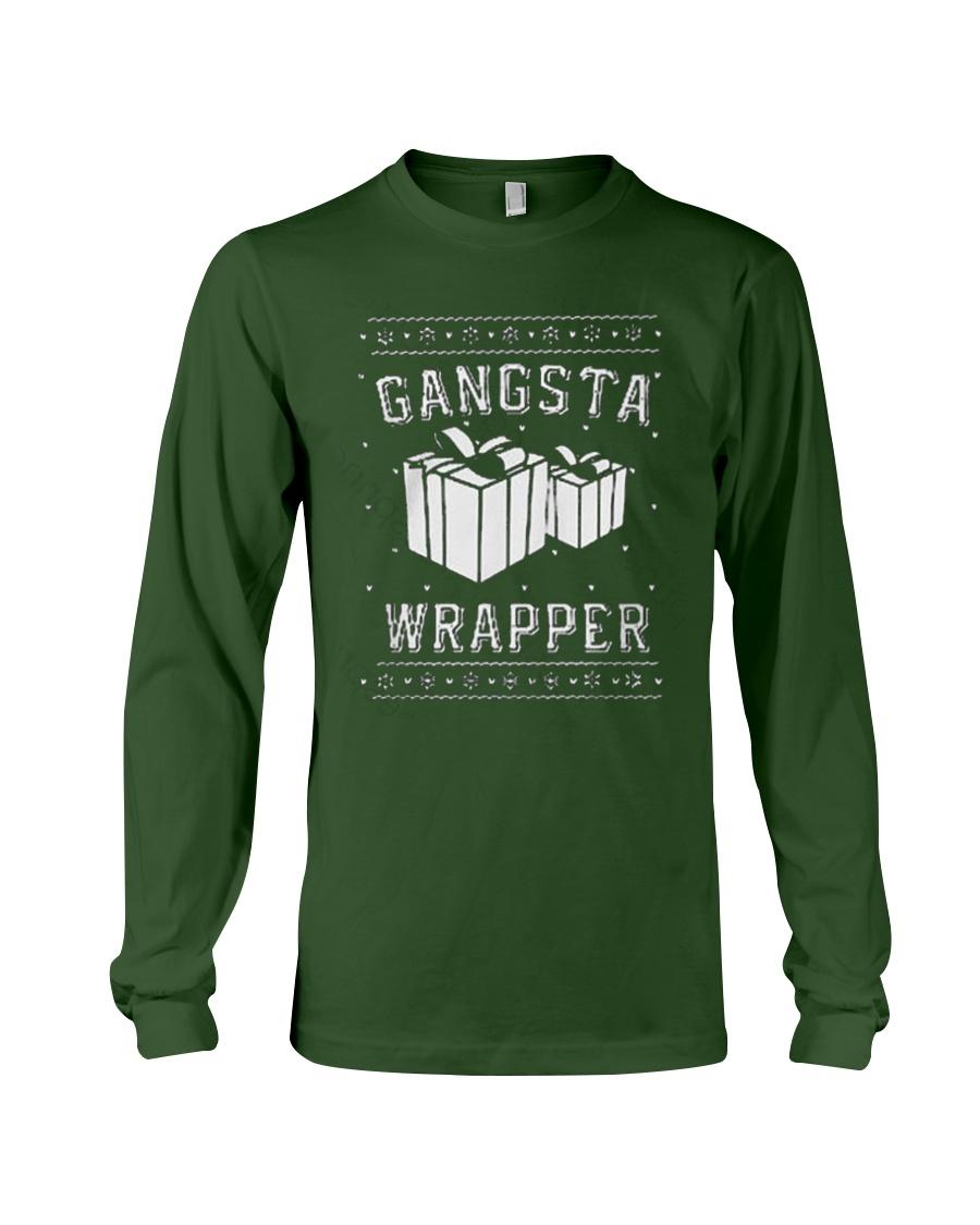 Gangsta Wrapper T-shirt Long Sleeve Tee