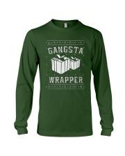 Gangsta Wrapper T-shirt Long Sleeve Tee front