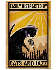 Black Cat And Jazz 11x17 Poster front