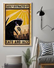 Black Cat And Jazz 11x17 Poster lifestyle-poster-1