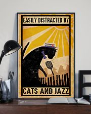 Black Cat And Jazz 11x17 Poster lifestyle-poster-2