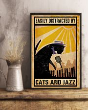 Black Cat And Jazz 11x17 Poster lifestyle-poster-3