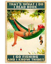 Fishing She Lived Happily Ever After 11x17 Poster front
