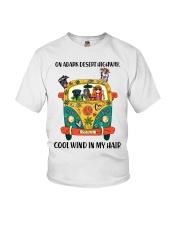 Volkswagen Type 2 Hippie  Youth T-Shirt thumbnail