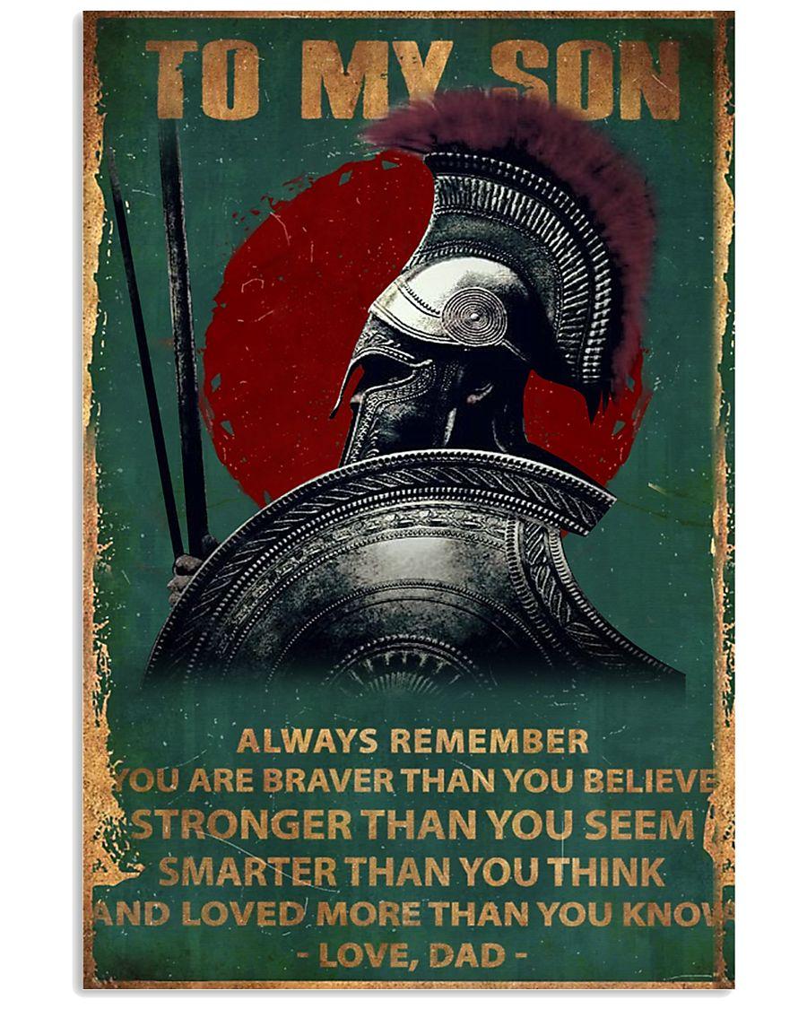 Spartan PARTAN 11x17 Poster