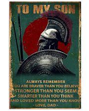 Spartan PARTAN 11x17 Poster front