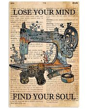 Lose Your Mind Find Your Soul 11x17 Poster front