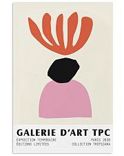 Abstracta De Arte Coral  11x17 Poster front