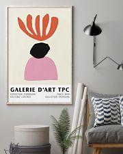 Abstracta De Arte Coral  11x17 Poster lifestyle-poster-1