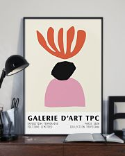 Abstracta De Arte Coral  11x17 Poster lifestyle-poster-2