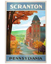 Scanton Pennsylvania 11x17 Poster front