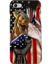 Love Dinosaur United State Flag Phone Case i-phone-8-case