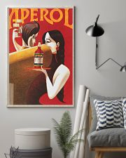 Red Summer Drinks Aperol 11x17 Poster lifestyle-poster-1