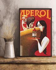 Red Summer Drinks Aperol 11x17 Poster lifestyle-poster-3