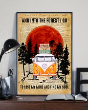 Love Camping And Into The Forest I Go 11x17 Poster lifestyle-poster-2