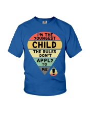 Matching For Father And Child Youth T-Shirt front