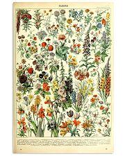 Adolphe Millot Vintage Fleurs 11x17 Poster front