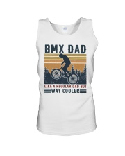 BMX Dad Unisex Tank thumbnail