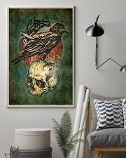 Raven And Skull 11x17 Poster lifestyle-poster-1