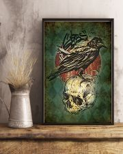 Raven And Skull 11x17 Poster lifestyle-poster-3
