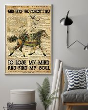 Horse And Into The Forest I Go To Lose Mind My 11x17 Poster lifestyle-poster-1