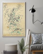 Scotland Whole Aged Map 11x17 Poster lifestyle-poster-1