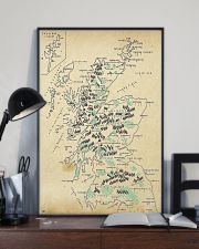 Scotland Whole Aged Map 11x17 Poster lifestyle-poster-2