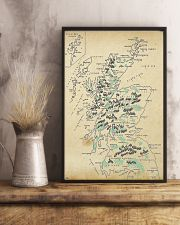 Scotland Whole Aged Map 11x17 Poster lifestyle-poster-3