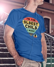 Matching For Father And Child Classic T-Shirt lifestyle-mens-crewneck-front-5