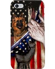 Love German Shepherd United State Flag Phone Case i-phone-8-case