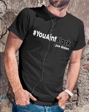You Ain't Black Classic T-Shirt lifestyle-mens-crewneck-front-4
