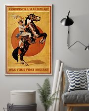 Assuming I'm Just An Old Lady 11x17 Poster lifestyle-poster-1