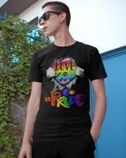 Love Is Love Classic T-Shirt apparel-classic-tshirt-lifestyle-17