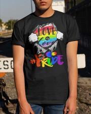 Love Is Love Classic T-Shirt apparel-classic-tshirt-lifestyle-29