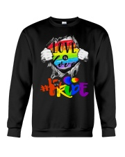 Love Is Love Crewneck Sweatshirt thumbnail