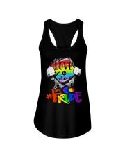 Love Is Love Ladies Flowy Tank thumbnail