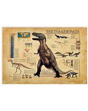 Tyrannosaurus Rex  17x11 Poster front