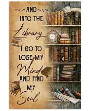 And Into The Library 11x17 Poster front