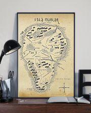 Isla Nublar Jurassic Park Aged 11x17 Poster lifestyle-poster-2