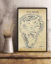 Isla Nublar Jurassic Park Aged 11x17 Poster lifestyle-poster-3