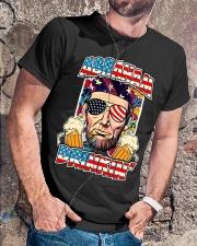 Abe Drinkin Classic T-Shirt lifestyle-mens-crewneck-front-4