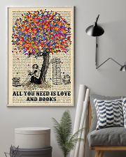 All You Need Is Love And Books 11x17 Poster lifestyle-poster-1