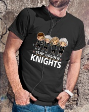 Stay Golden Knights Classic T-Shirt lifestyle-mens-crewneck-front-4