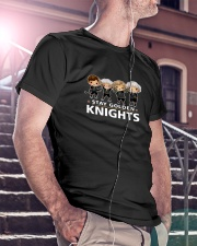 Stay Golden Knights Classic T-Shirt lifestyle-mens-crewneck-front-5