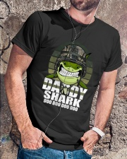 Army Daddy Shark Classic T-Shirt lifestyle-mens-crewneck-front-4