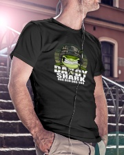 Army Daddy Shark Classic T-Shirt lifestyle-mens-crewneck-front-5