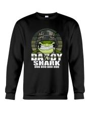 Army Daddy Shark Crewneck Sweatshirt thumbnail