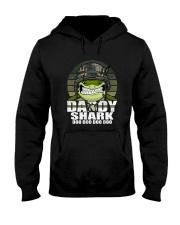 Army Daddy Shark Hooded Sweatshirt thumbnail