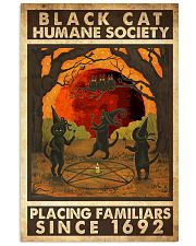 Black Cat Humane Society Placing Familiars 11x17 Poster front